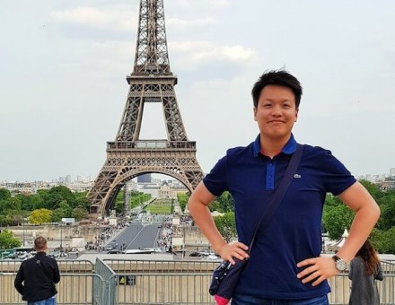 Joshue Lee International MBA Paris